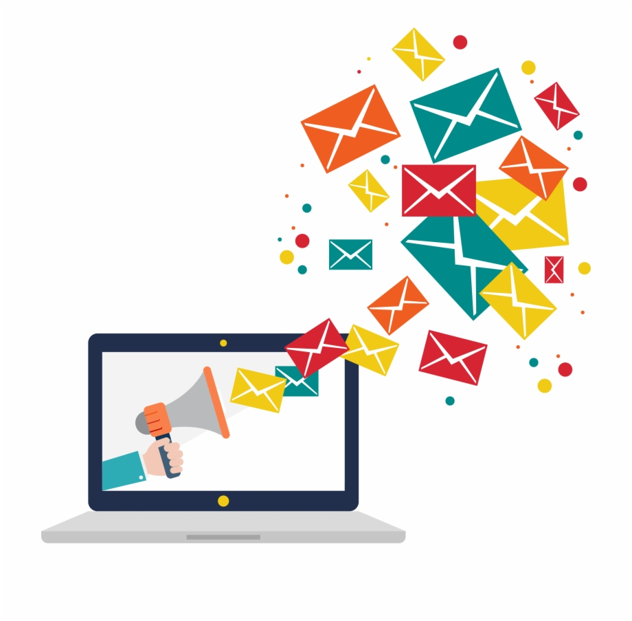 Email Marketing Png Image Background.