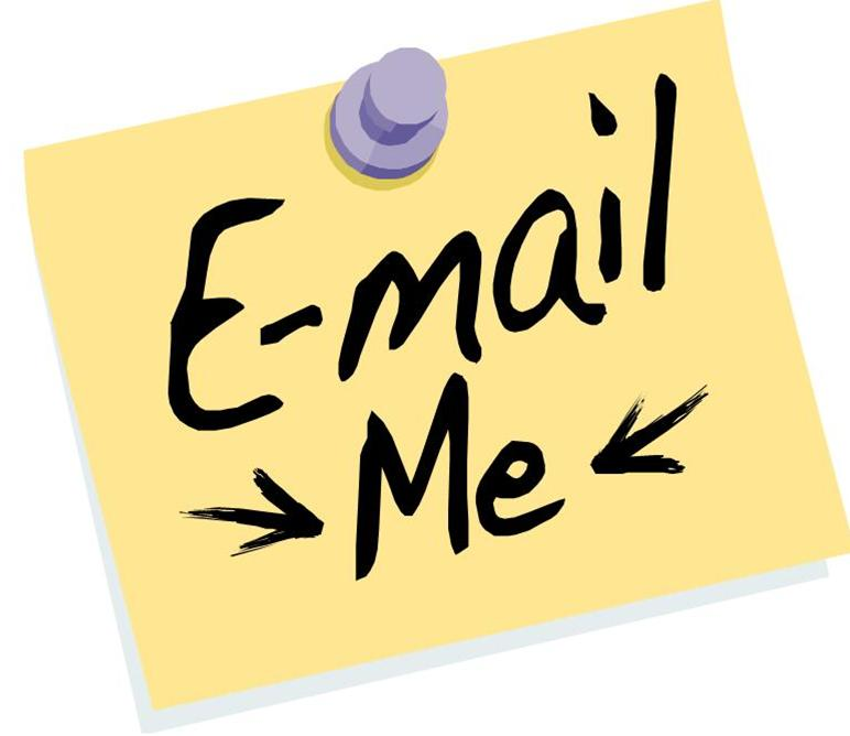 Email Me Clipart.
