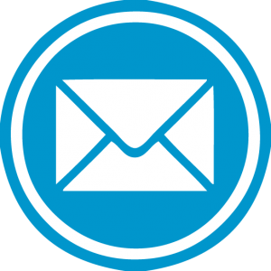 Email Blue Png Icon #13454.