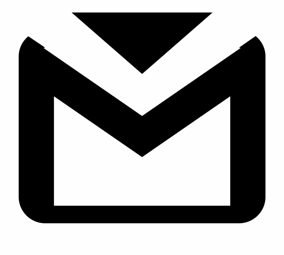 Computer Icons, Gmail, Email, Black, Black And White.