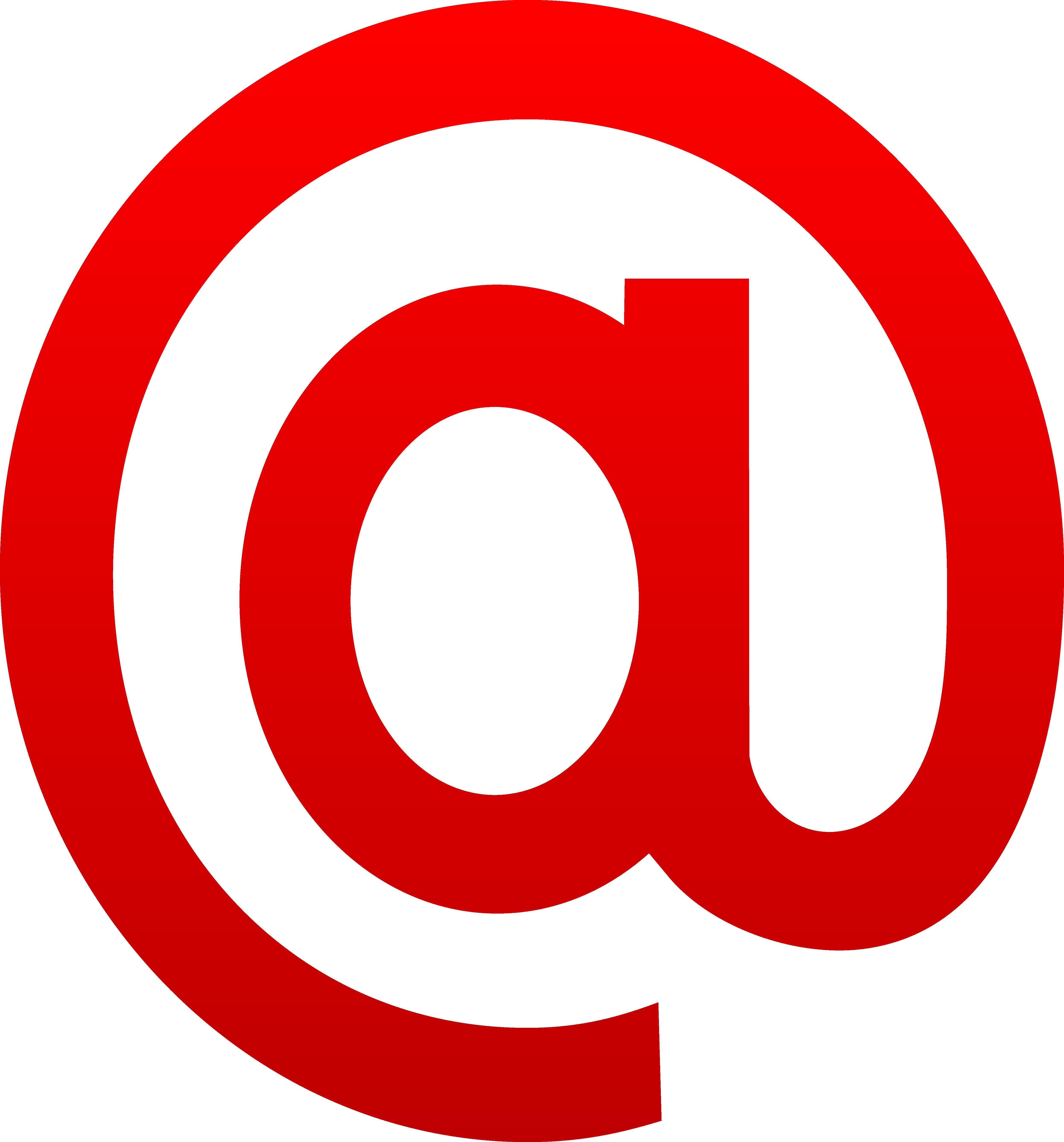 Purple Symbol Email Clipart.