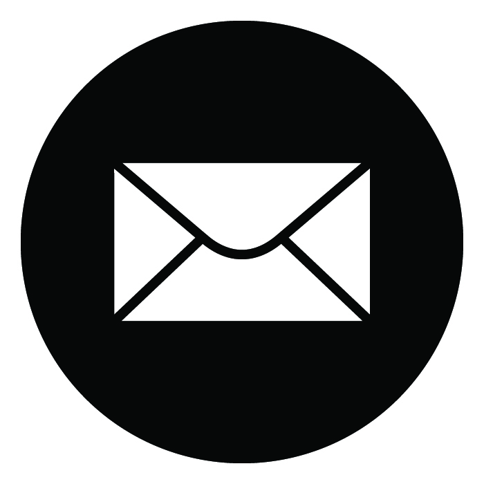 Red Symbol Email Clipart.