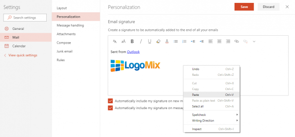 How to Add a Logo to Your Email Signature [Gmail, Yahoo.