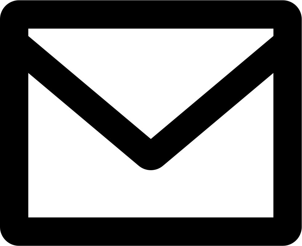 New Email Interface Symbol Of Closed Envelope Back Svg Png Icon Free.