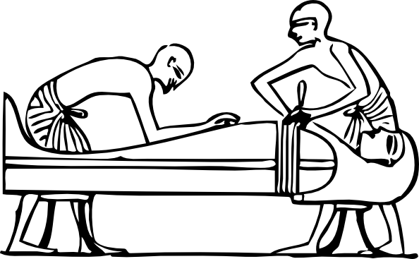 Ancient Egyptians Embalming Clip Art at Clker.com.
