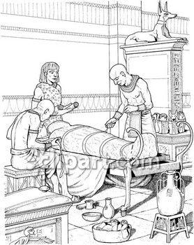 Embalming.