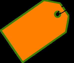 Orange Sale Tag Clip Art at Clker.com.