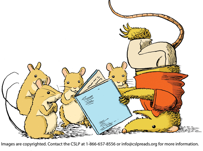 Summer Reading Clipart.