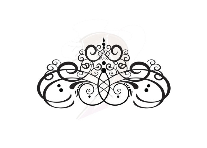 Flourish Digital Clip Art VECTOR COMMERCIAL USE Business Personal.