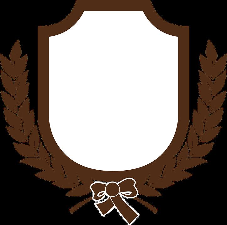 Emblem Laurel Leaves.