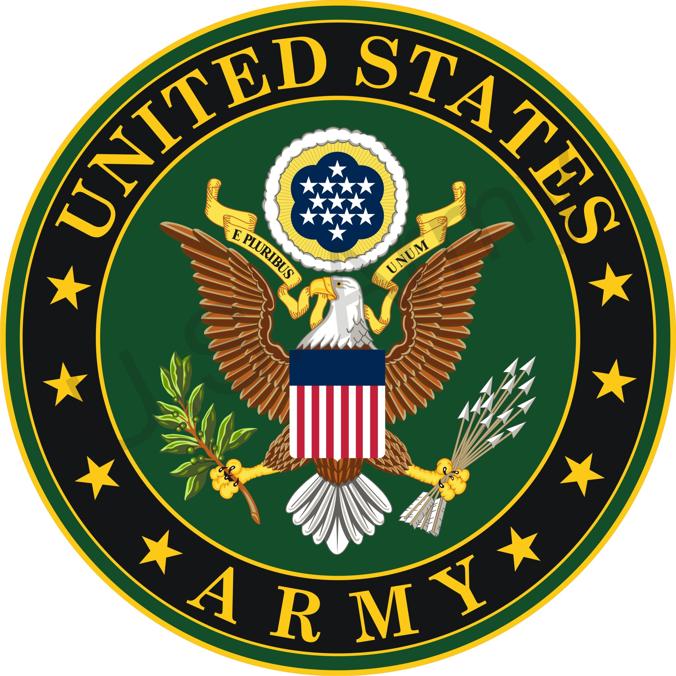 Military emblems clipart.
