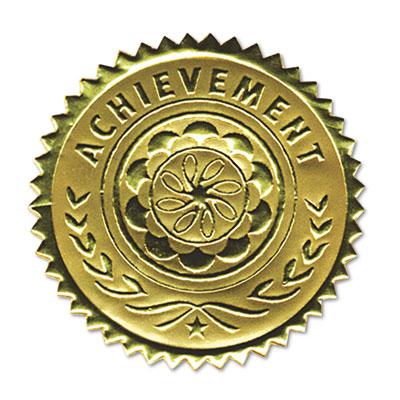 Southworth Gold Foil Certificate Seals Achievement Embossed Foil.