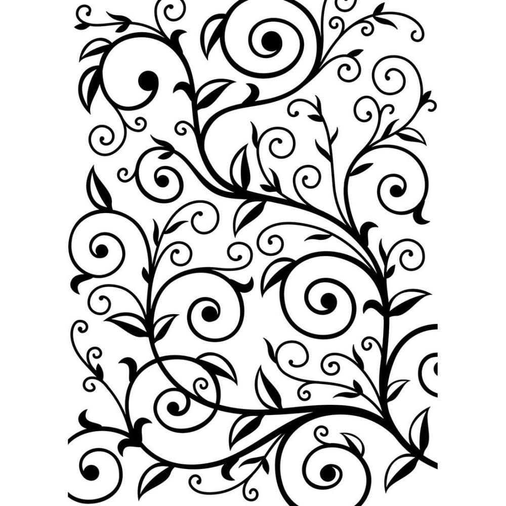 Embossed clipart patterns.