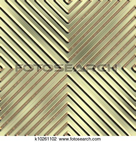Clip Art of Embossing. Seamless background. k10261102.