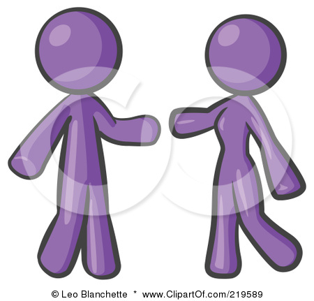 Man and woman embracing clipart.