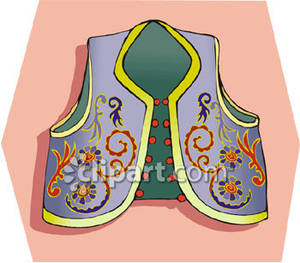 Embroidered_Vest_Royalty_Free_Clipart_Picture_081122.