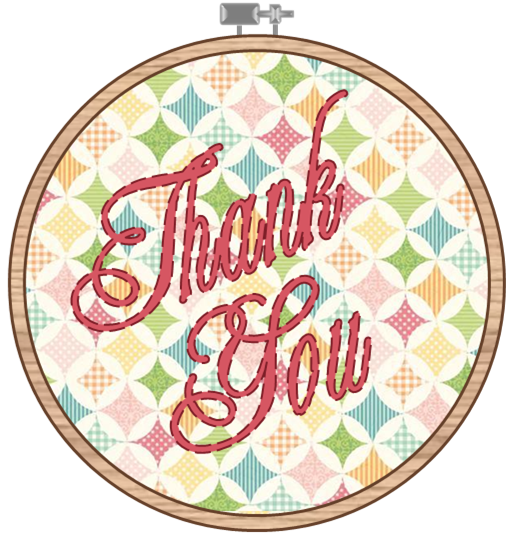 Embroidery Hoop Clipart.