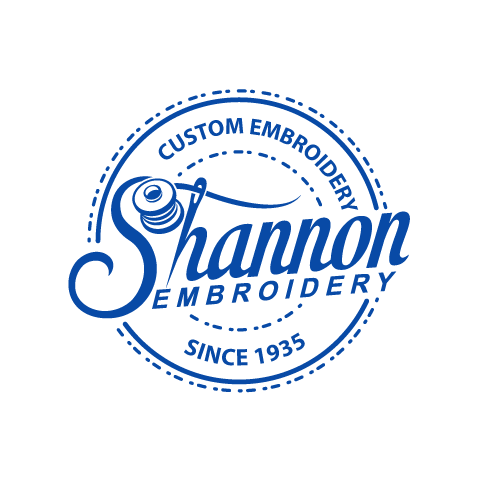 Shannon Embroidery logo.