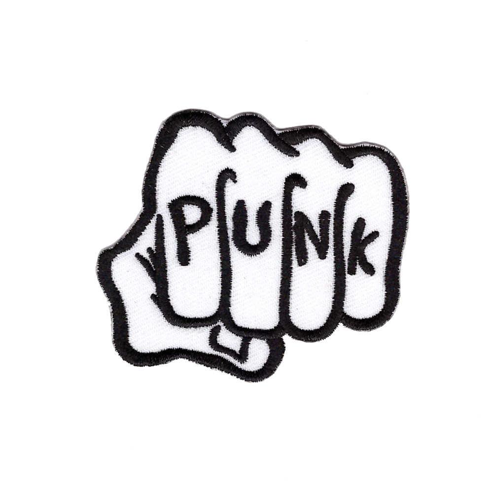 Embroidery Customized Logo Designs PUNK Rock Band Free Logos.