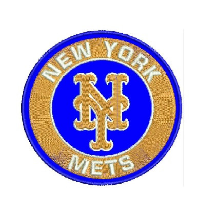 New York Mets Logo 3 Embroidery Designs.