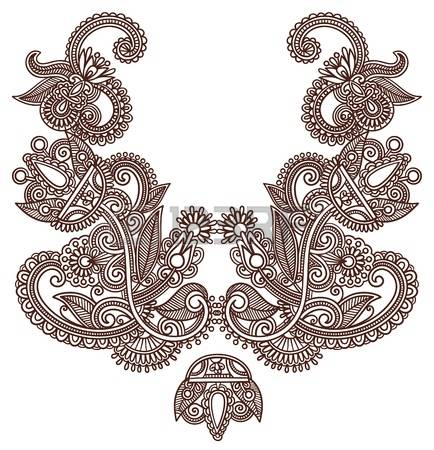 43,781 Embroidery Pattern Stock Vector Illustration And Royalty.