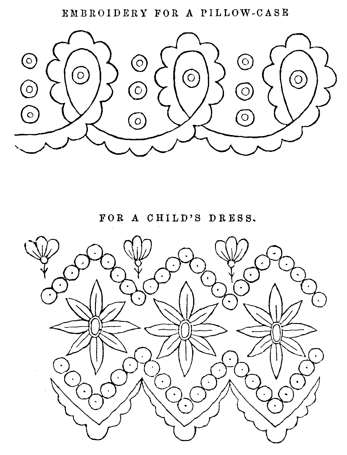 Free Victorian Embroidery Patterns.