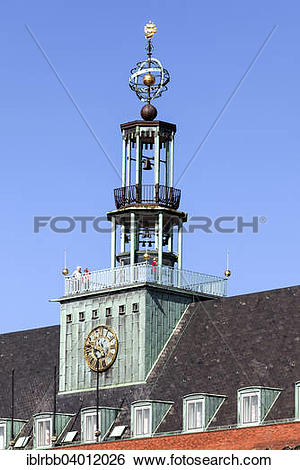 """Stock Images of """"Former Town Hall, today East Frisian museum."""