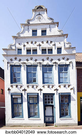 """Stock Photograph of """"Historic gabled house in Lilienstrasse street."""