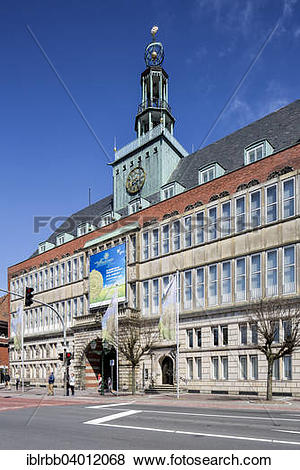 """Pictures of """"Former Town Hall, today East Frisian museum, Emden."""