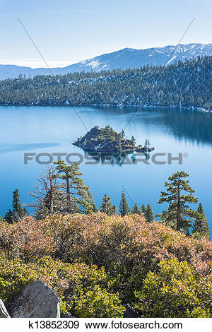 Stock Photograph of Emerald Bay k13852309.