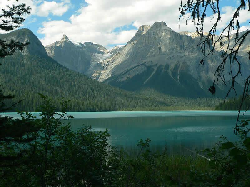 Emerald Lake : Yoho National Park : Canoeing, Cross Country Skiing.