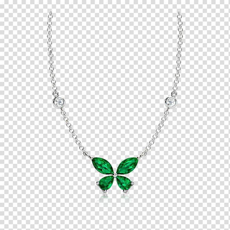 Emerald Necklace Jewellery Charms & Pendants Diamond.