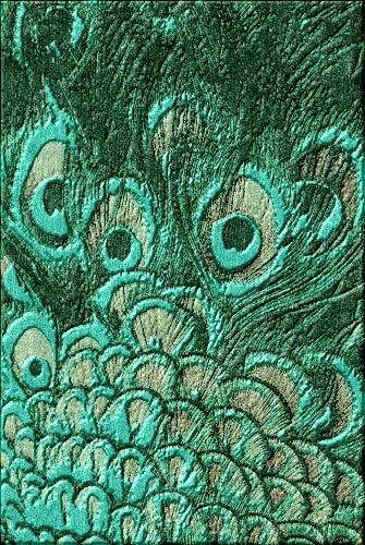 LUXE Designer Emerald Peacock Art Rug Enjoy & Be Inspired More.
