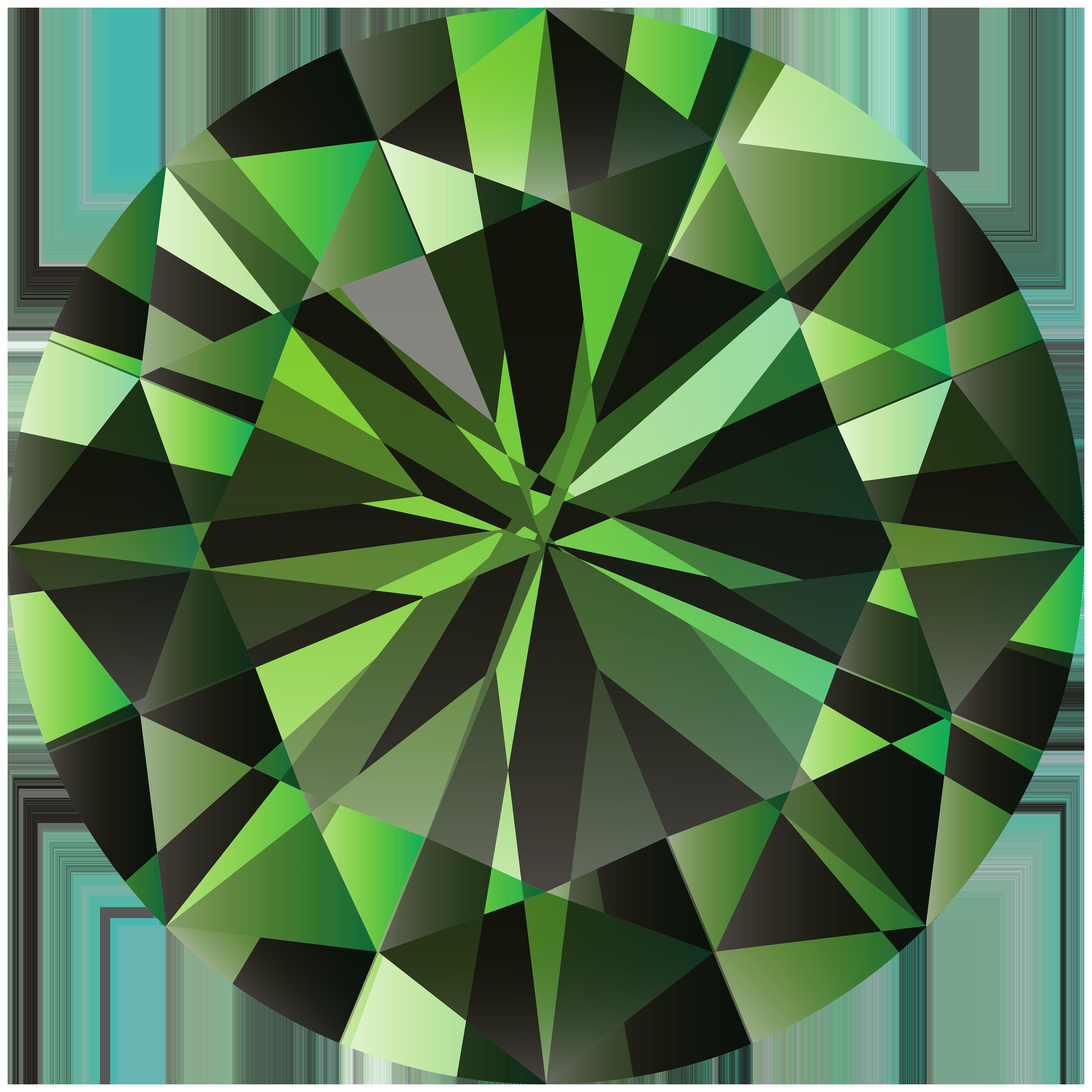 Emerald PNG Clipart.