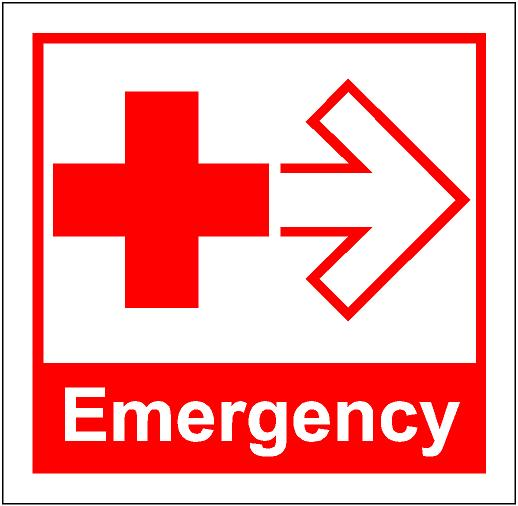 in an emergency clipart clipground