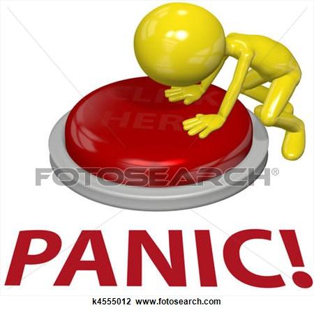 Panic clipart.