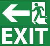 Emergency exit Clipart and Illustration. 1,081 emergency exit clip.