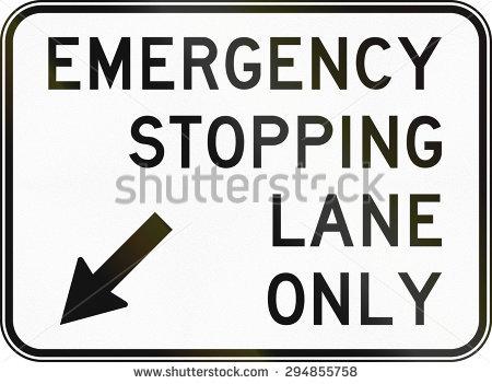 Emergency Lane Stock Photos, Royalty.