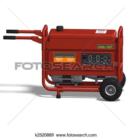 Stock Illustration of emergency power supply k2520889.