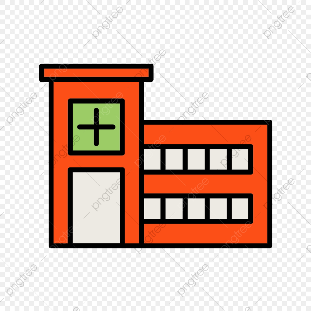 Emergency Room Line Filled Icon, Emergency Room, Room, Medical PNG.