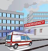 Emergency Room Clip Art.