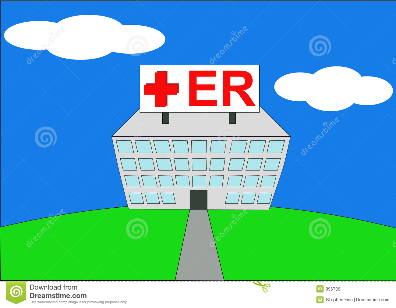 Room Clip Art: Emergency Room Clipart