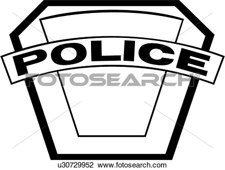 Clipart of , badge, cop, department, emergency, emergency services.