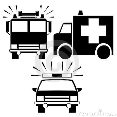 Emergency Services Clipart.