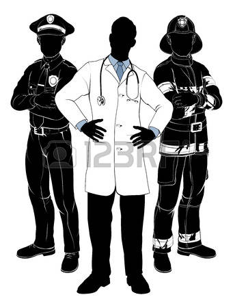 25,145 Emergency Services Occupation Stock Vector Illustration And.