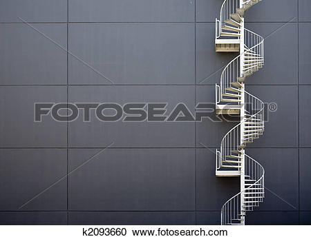 Stock Photography of Emergency stairs k2093660.
