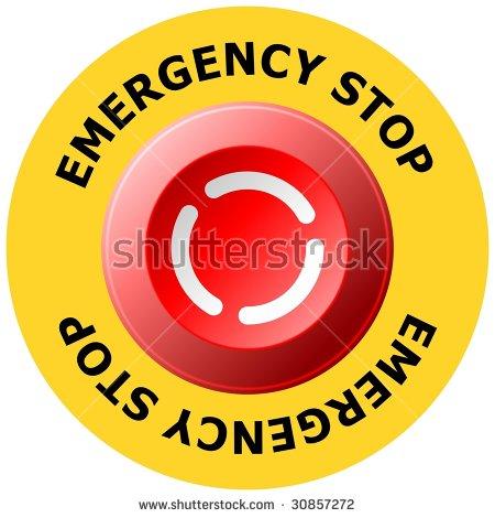Emergency Stop Button Stock Photos, Royalty.
