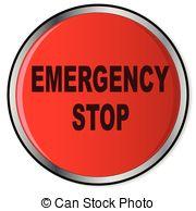 Emergency stop Vector Clip Art EPS Images. 910 Emergency stop.