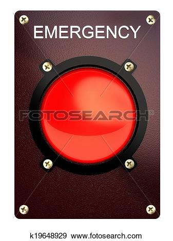 Stock Illustration of Emergency stop button k19648929.