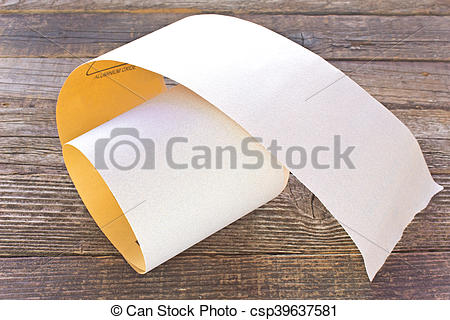 Pictures of Emery paper.